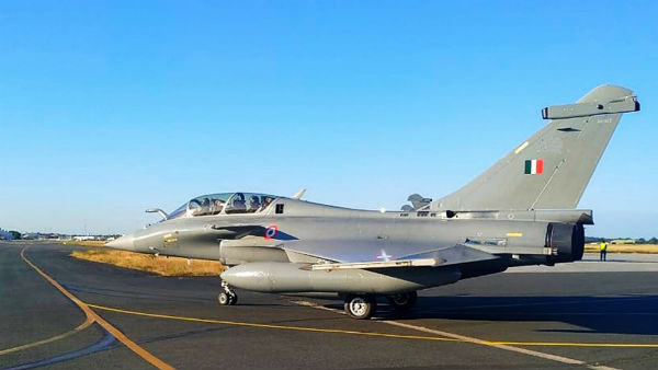 First batch of 5 Rafales reaches Al Dhafra airbase in UAE on way to India from France