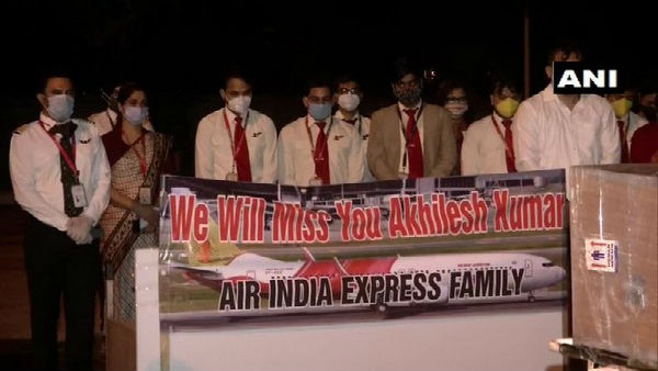 Kerala plane crash: Mortal remains of co-pilot Akhilesh Kumar his native place in Mathura