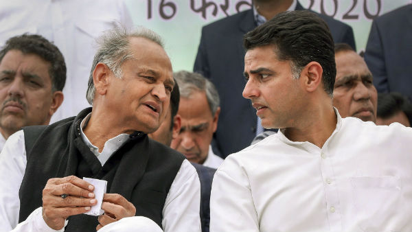 Ashok Gehot and Sachin Pilot