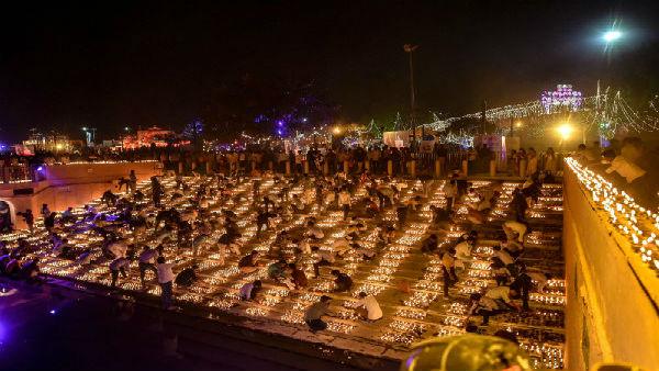 BJP to celebrate Ram temple's 'bhumi pujan' by lighting diyas