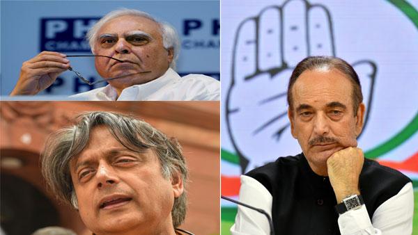 CWC: Sibal, Tharoor meet at Azad's house