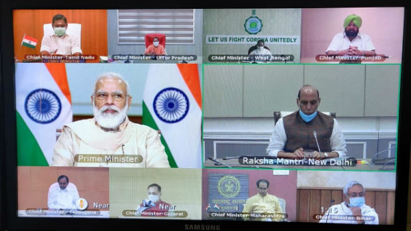 Modi holds consultations with CMs of 10 states on COVID19 situation as cases cross 22.6 lakh
