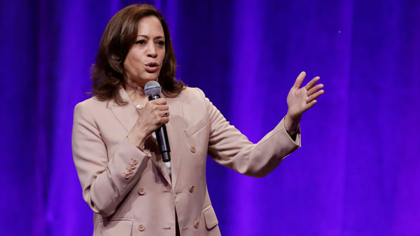 Outrage over mispronunciation of Kamala Harris' name, supporters launch online campaign