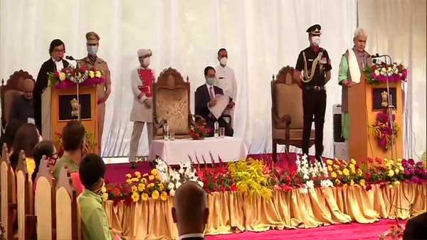 Manoj Sinha takes oath as next LG of Jammu and Kashmir