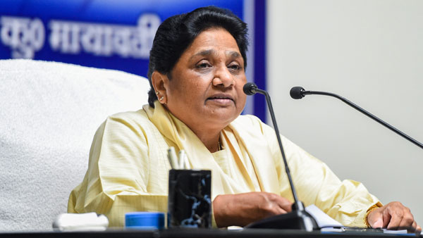 Defy whip, face action Mayawati to MLAs who merged with Rajasthan Congress