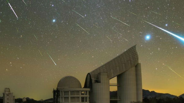 What causes meteor showers?