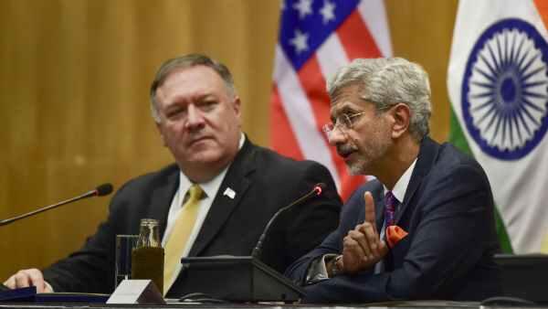 Jaishankar, Pompeo discuss security in Indo-Pacific region, Covid-19 over phone