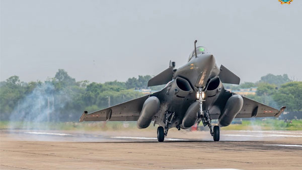 Rajnath Singh to formally induct Rafales into IAF on September 10