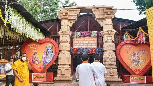 Vedic rituals continue as decked up Ayodhya awaits Ram Mandir event