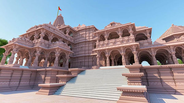 Copper plates to be used to fuse stone blocks at Ram Mandir