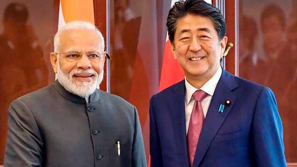 Global partnership is key achievement, Shinzo Abe tells PM Modi
