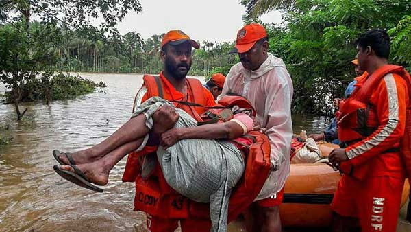Gujarat: 9 die in heavy rains, NDRF rescues 30