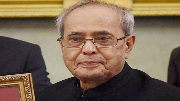 Pranab Mukherjee had suffered head injury in an accident in 2007