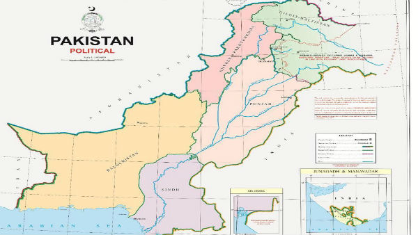 Pakistan releases new political map including J&K as its own