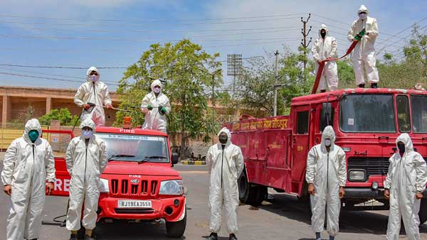 A tribute to the Indian fire fighters ahead of the Independence Day