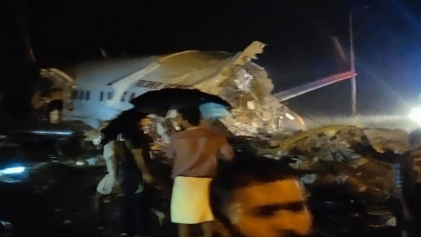 <strong>Pilot dead after Air India Express plane skids off runway in Kerala</strong>