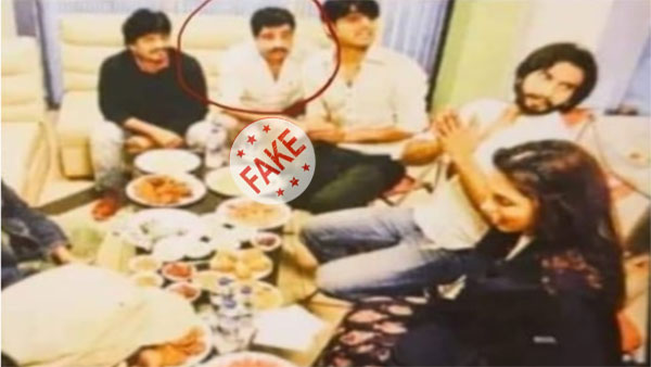 Fake: Man seen in image with Dipika Padukone, Ranvir Singh is not Dawood Ibrahim