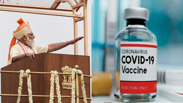 PM Modi says 3 COVID-19 vaccines are different stages of trials in India