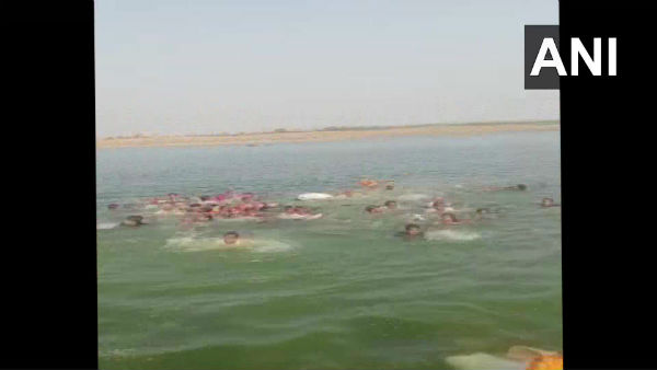 At least 11 dead as boat carrying over 45 devotees overturns in Rajasthans Kota