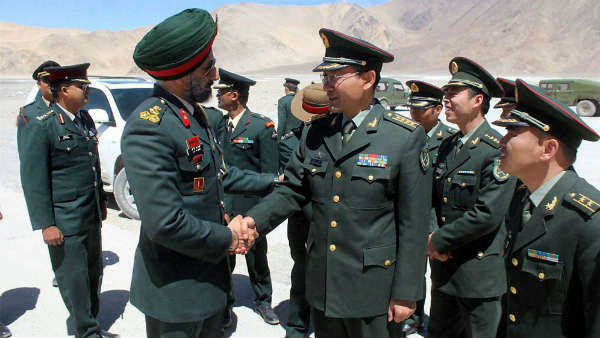 Indo-China military commander level talks held at Moldo