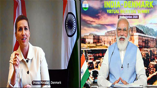India-Denmark agree to elevate relations to a Green Strategic Partnership