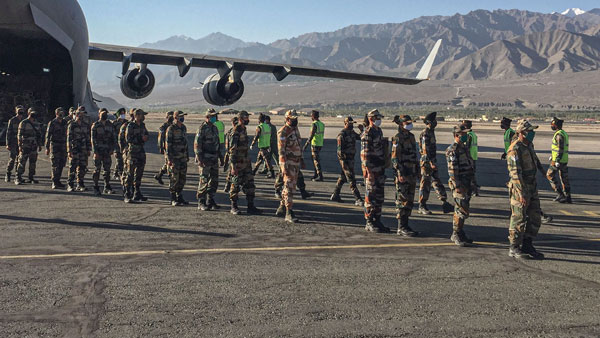 Indian soldiers remained undeterred as China resorts to Hindi warnings, Punjabi music