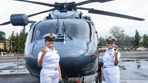 In a historic first, two woman officers to be posted on Indian Navy warship
