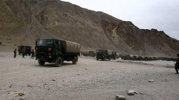 Situation at friction points in Eastern Ladakh remains tense