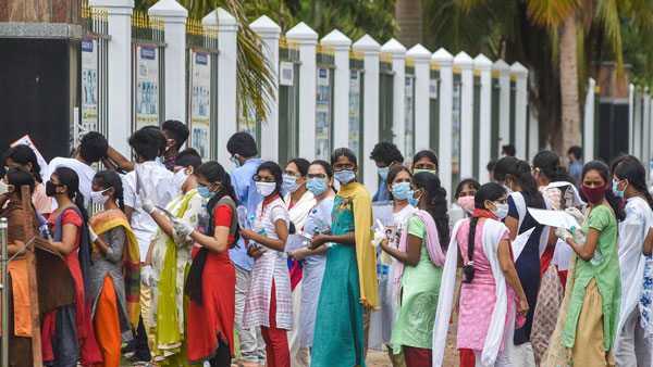 NEET to be held today for over 15 lakh candidates amid strict Covid-19 precautions