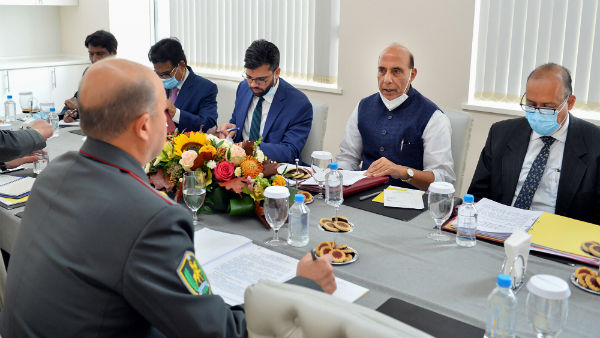 Rajnath meets counterparts from Uzbekistan, Kazakhstan