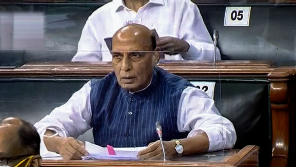 Rajnath Singh to adress Rajya Sabha on India-China border issue tomorrow