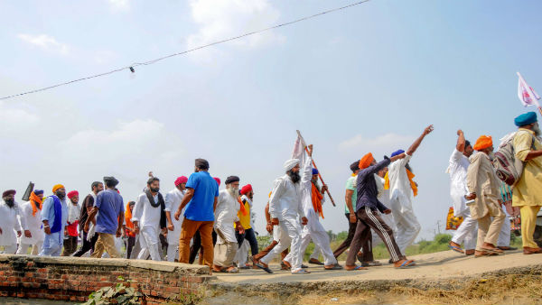 Farm laws: Protests in many states by Congress and other Oppn parties; Leaders say ready to move SC