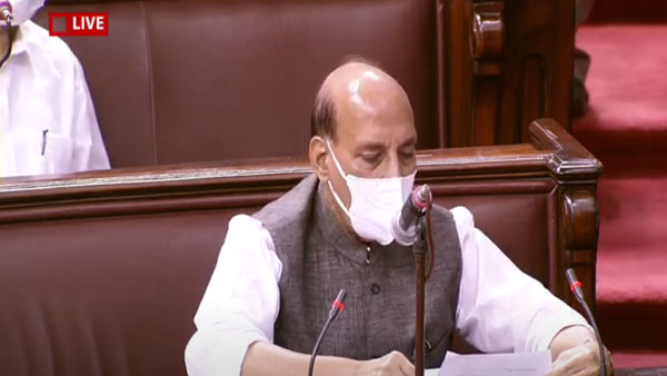 Will hold our heads high says Rajnath amidst overwhelming support in RS on India-China issue