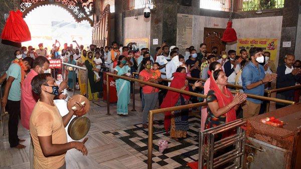 Indore: Religious places re-open after 6 months