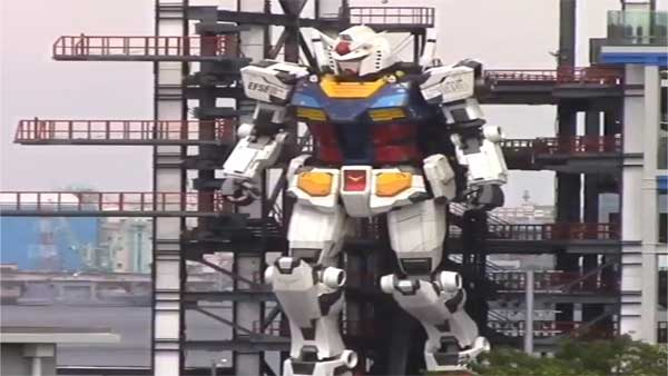 Watch: World's biggest humanoid robot on test ride at Japan