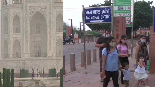 Taj Mahal opens: First visitor is tourist from Taiwan