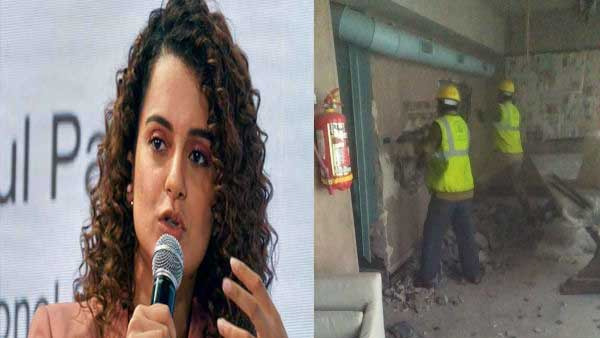 BMC begins demolishing Kangana Ranaut's office, actor files plea in HC
