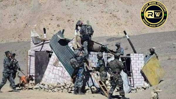 Fake: Old image of India-China soldiers being passed of as clashes in Ladakh