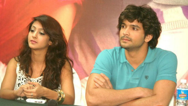 Kannada star couple Aindrita Ray and Diganth Manchale