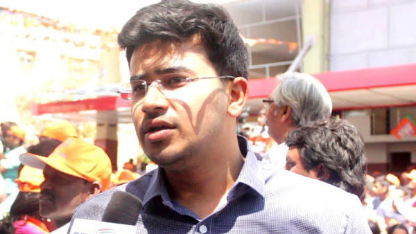 Bengaluru has become epicentre of terror activities: BJP MP Tejasvi Surya