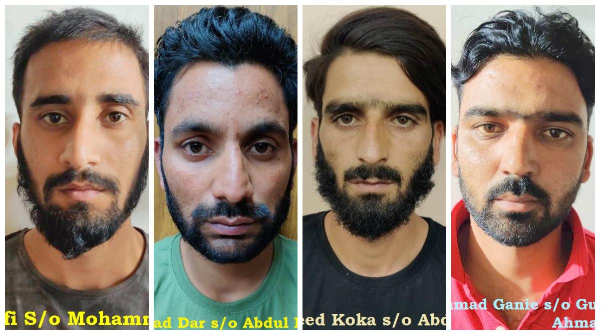Highly radicalised Kashmiri terrorists arrested, major attack averted in Delhi