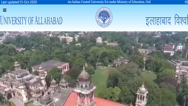 Allahabad University entrance exam result 2020 declared: Dates for BA LLB, PGAT result announced