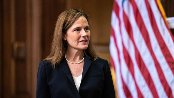 Amy Coney Barrett confirmed by Senate to Supreme Court