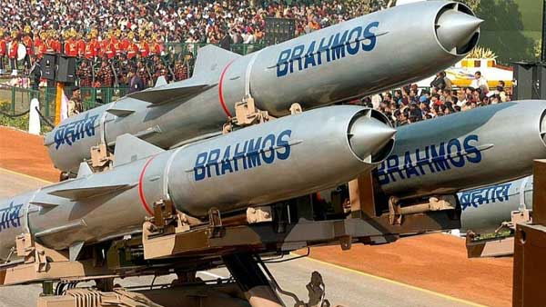 BrahMos extended range supersonic cruise missile