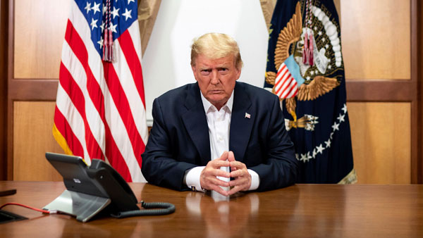 US elections 2020: President Trump ends TV abruptly