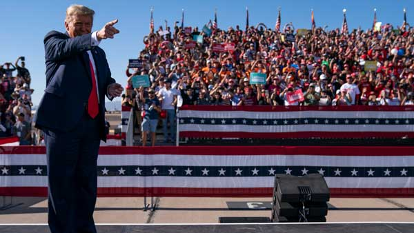 US elections 2020: Trump, Biden intensify campaign