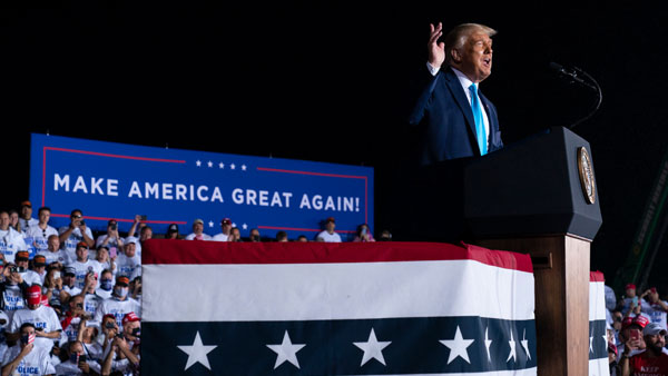 US Elections 2020: Trump says Biden made corrupt exchange for his party nomination