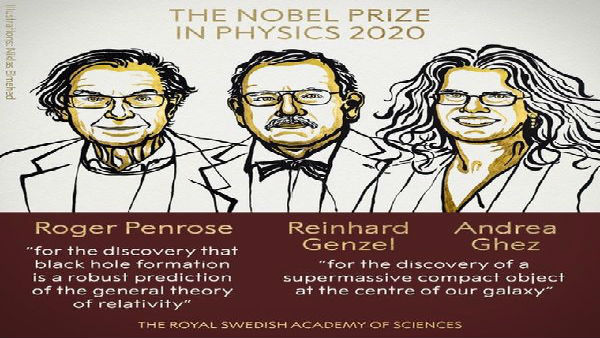 3 scientists share Nobel physics prize for cosmology finds
