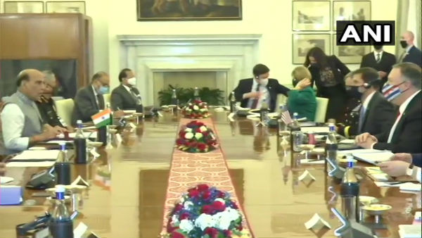 India-US 2+2: Rajnath, Pompeo and Esper take part in inter-ministerial dialogue
