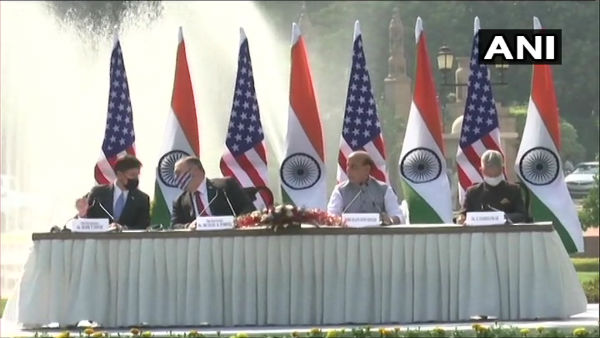 India-US 2+2: Key defence pact BECA signed, Rajnath says will open new avenues in info sharing